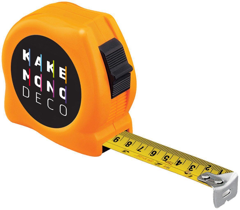 un mètre avec le logo kakémonodéco