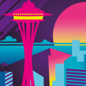 Zoom sur l'illustration Seattle electro