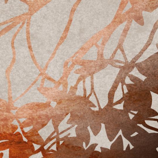 zoom sur l'illustration feuilles d'automne