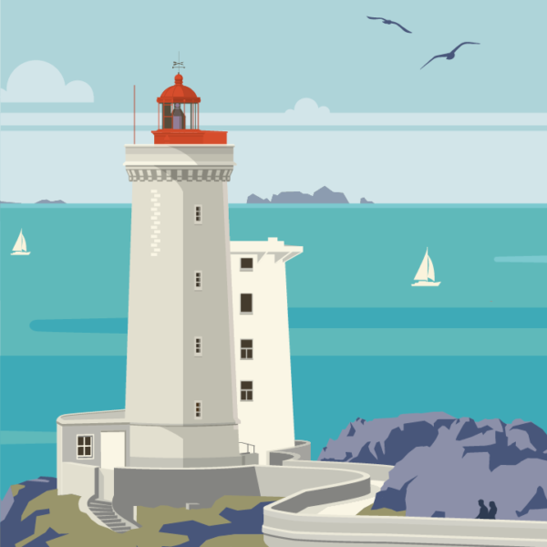 zoom sur l'illustration Plouzané le phare
